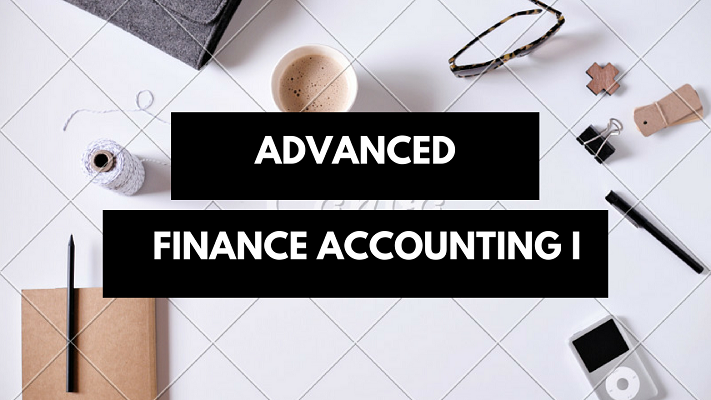 Course Image ACC411 - ADVANCED FINANCE ACCOUNTING I